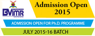 Admission Open 2015